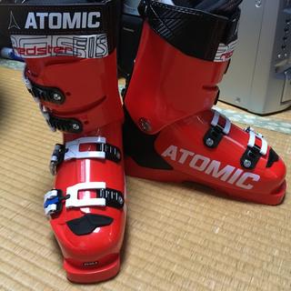 アトミック(ATOMIC)の新品 アトミック スキーブーツ 25.0〜25.5(ブーツ)