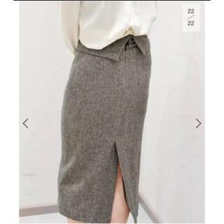 プラージュ(Plage)のプラージュ plage のヘリボーン ロングタイトスカート(ひざ丈スカート)