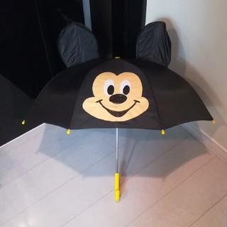 ディズニー(Disney)のミッキーマウス 耳付き傘 47cm(傘)