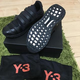アディダス(adidas)の【60%off】adidas Y-3 ZAZU 黒 23.5cm(スニーカー)