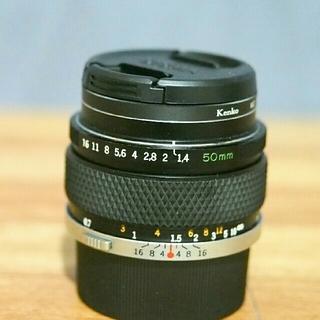 オリンパス(OLYMPUS)のZUIKO AUTO-S 50mm f1.4 OMシステム(レンズ(単焦点))