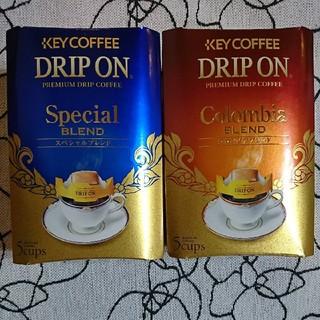 キーコーヒー(KEY COFFEE)のキーコーヒー KEY COFFEE★ドリップ オン★ドリップ コーヒー(10袋)(コーヒー)