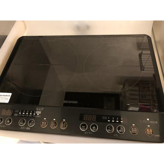 アイリスオーヤマ(アイリスオーヤマ)のIH二口コンロ(調理機器)
