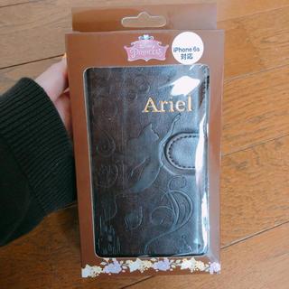 ディズニー(Disney)のiphone6sケース 手帳型 ディズニー disney アリエル(iPhoneケース)