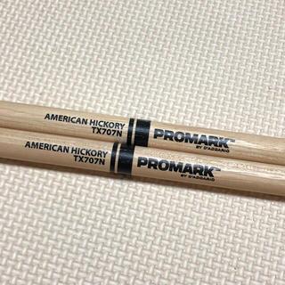 新品♡アメリカンヒッコリー PROMARK TX707N(スティック)