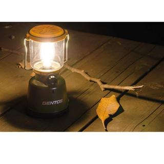 ジェントス(GENTOS)の新品 ジェントス 防滴LEDランタン 400ルーメンで明るい! 災害時にも!(ライト/ランタン)