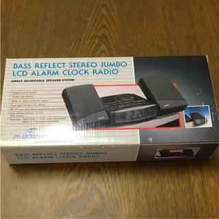 ラジオ 時計 レトロ(ラジオ)