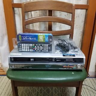 パナソニック(Panasonic)の10年完動美品!パナソニックVHS/HDD/DVDレコーダDMR-EX250V(DVDレコーダー)