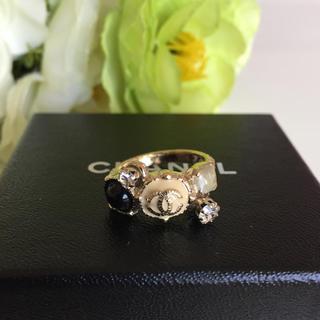 シャネル(CHANEL)のCHANEL シャネル シャンパン ゴールド リング 指輪 正規品(リング(指輪))