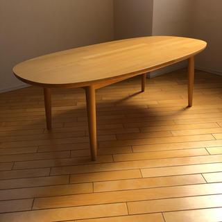 イデー(IDEE)のIDEE イデー ローテーブル ビーチ材(ローテーブル)