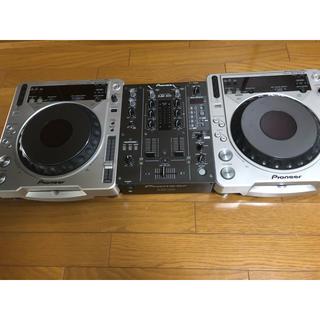 パイオニア(Pioneer)のCDJ-800MK2 & DJM400セット(CDJ)