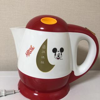 ディズニー(Disney)の電気ケトル ミッキー(電気ケトル)