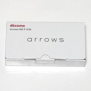 富士通 - 新品 ドコモ arrows NX F-01K モスグリーン