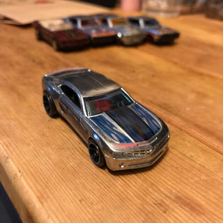 シボレー(Chevrolet)のホットウィール50周年 HW シボレー カマロ  ミニカー(ミニカー)