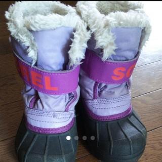 ソレル(SOREL)のSorel スノーブーツ kids 14.5センチ(ブーツ)