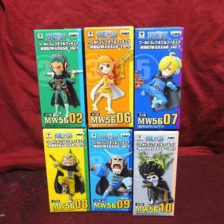バンプレスト(BANPRESTO)の新品 ワンピース ワーコレ -MUGIWARA 56 vol.2 & ゾロ(アニメ/ゲーム)