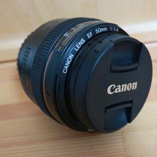 キヤノン(Canon)のEF 50mm f1.4 USM 単焦点レンズcanon (レンズ(単焦点))