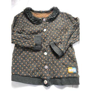 チップトリップ(CHIP TRIP)のカーディガン☆チップトリップ☆100サイズ(Tシャツ/カットソー)