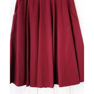 チャイルドウーマン(CHILD WOMAN)のチャイルドウーマン プリーツスカート 美品(ひざ丈スカート)