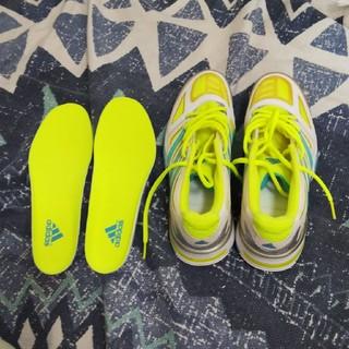 アディダス(adidas)のadidas  室内用テニスシューズ&シューズ入れ(シューズ)