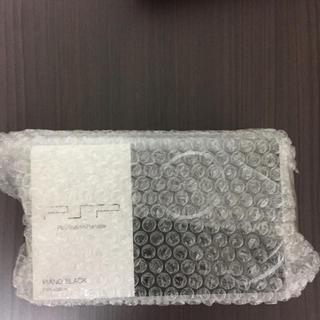 ソニー(SONY)のPSP 新品 未開封 ブラック(携帯用ゲーム本体)