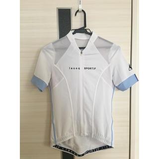 1f14ccc0bfb627 ルコックスポルティフ(le coq sportif)の女性用 半袖サイクルジャージ(ウエア)
