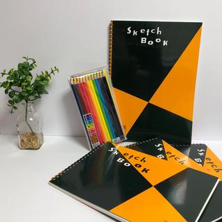 マルマンスケッチブック   4冊       色鉛筆セット(スケッチブック/用紙)