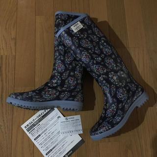 エーグル(AIGLE)のAIGLE リバティ コラボ レインブーツ 23㎝ CHANTELIBOOT(レインブーツ/長靴)