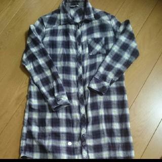 シマムラ(しまむら)のシャツワンピース チェックシャツ(シャツ/ブラウス(長袖/七分))