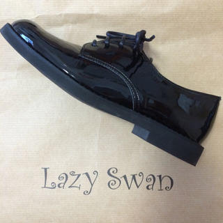 Lazy swan エナメルシューズ レディースの靴/シューズ(ローファー/革靴)の商品