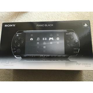 ソニー(SONY)のSONY PSP 2000 PB 新品未使用(携帯用ゲーム本体)