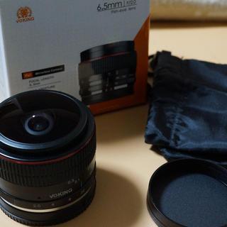 キヤノン(Canon)のVoking 6.5mm f/2.0 Canon EOS-M EF-Mマウント(レンズ(単焦点))