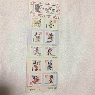 ディズニー(Disney)のディズニー ミッキー&ミニー 82円切手(切手/官製はがき)