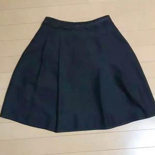 カールパークレーン フレアスカート黒7号