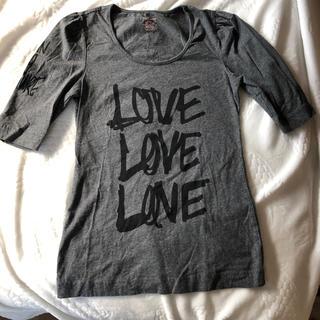 ジューシークチュール(Juicy Couture)のJuicy Couture ジューシークチュールグレーTシャツ(Tシャツ(半袖/袖なし))