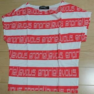 ジュヴゾンプリ!(jevous enprie!)のメルシーボークー ジュブゾンプリ トップス サイズ1(カットソー(半袖/袖なし))