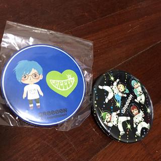 グリーン(green)のGReeeeNの缶バッチ(ミュージシャン)