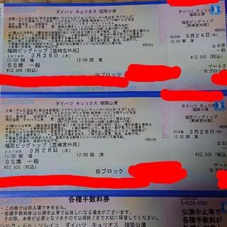 すからべ様専用 キュリオス福岡 ペアチケット(サーカス)
