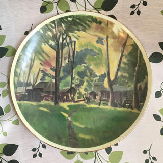 ナルミ(NARUMI)の小磯良平 絵皿(置物)