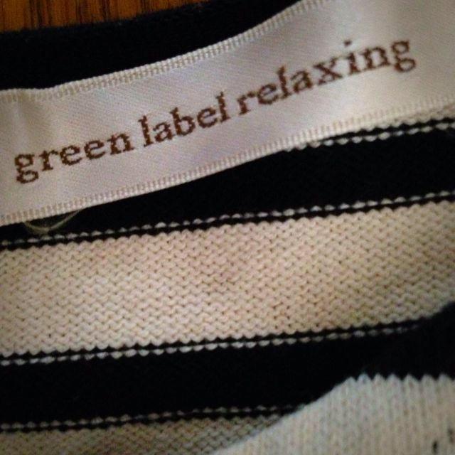 green label relaxing(グリーンレーベルリラクシング)のマリン風◉ボーダーワンピ◉ レディースのワンピース(ひざ丈ワンピース)の商品写真