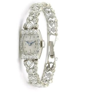 ハミルトン(Hamilton)のhamilton 全面ダイヤ時計レディース(腕時計)