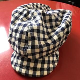 スキップランド(Skip Land)のチェック柄キャップ 帽子 キャスケット✳︎スキップランド(帽子)