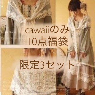 カワイイ(cawaii)のcawaii のみ 10点福袋 限定3セット(セット/コーデ)