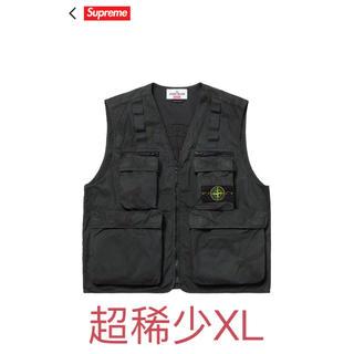 シュプリーム(Supreme)の最安値 ❗️今日中限定 stone island camo cargo vest(その他)