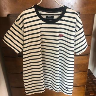 グラム(glamb)のglamb ロペスボーダーTシャツ(Tシャツ/カットソー(半袖/袖なし))