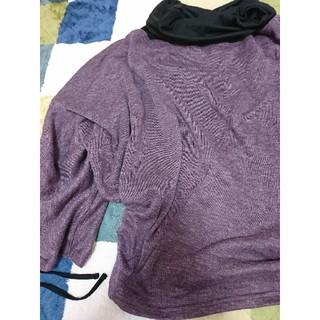 ディオラート(Deorart)のニットソー ボリュームネック ドルマントップス セット(Tシャツ/カットソー(七分/長袖))