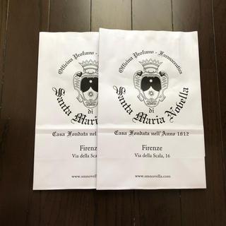 サンタマリアノヴェッラ(Santa Maria Novella)のサンタマリアノッヴェラ ショップ袋(ショップ袋)