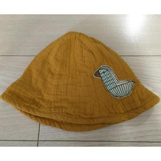 ミナペルホネン(mina perhonen)のミナペルホネン  ウッドバード ベビーハット 帽子(帽子)