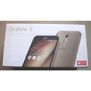 エイスース(ASUS)の新品訳あり ASUS ZenFone 2 32G ゴールド ZE551ML-G(スマートフォン本体)