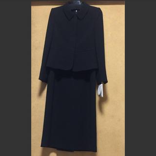 ソワール(SOIR)のパティオ ウェア ブラックフォーマル 7号(礼服/喪服)